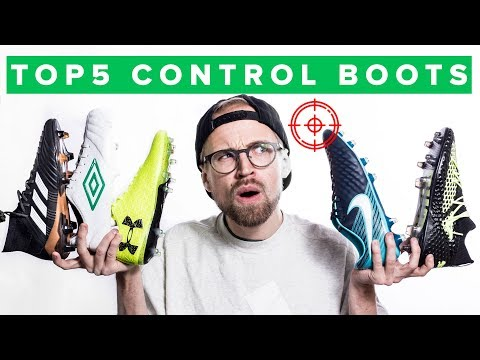 TOP 5 BEST CONTROL FOOTBALL BOOTS
