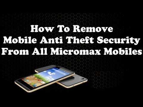 How To Remove Privacy Protection Password (Anti Theft) EASILY From All Micromax Mobiles