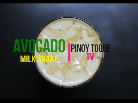 Avocado Milkshake ( with pearls )
