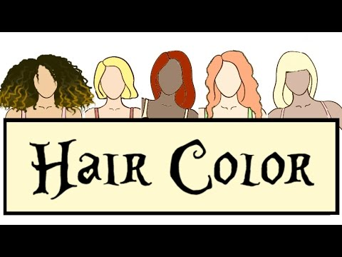 Hair Color for the Bodytypes