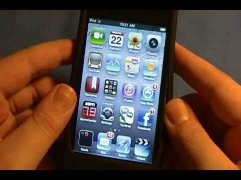 iPod Touch 4th Generation 8GB Full Review