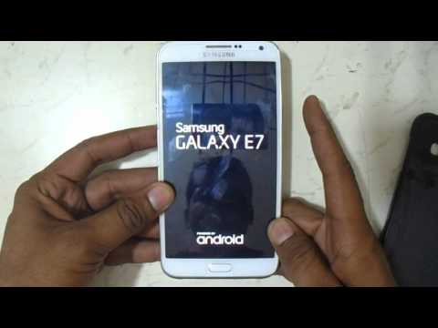 Samsung Galaxy E7 Hard Reset And Pattern Reset Eazy