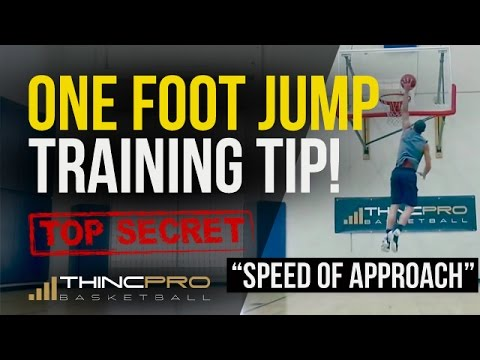 How to Dunk Off Of 1 Leg -