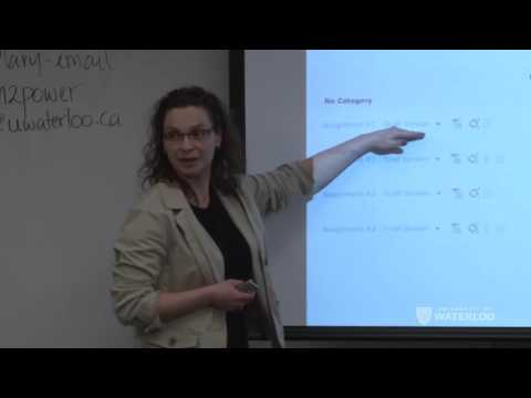 Using Turnitin as a Learning Tool at the University of Waterloo