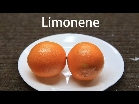 How to extract Limonene from Orange Peels