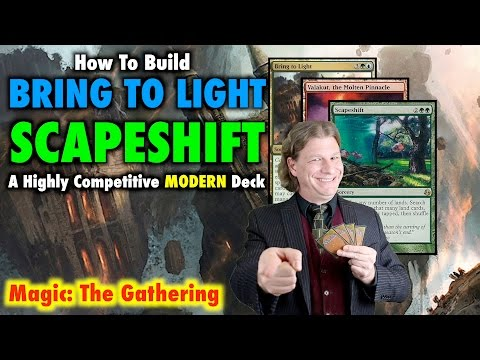 How To Build Bring To Light Scapeshift - A Highly Competitive Modern Magic The Gathering Deck