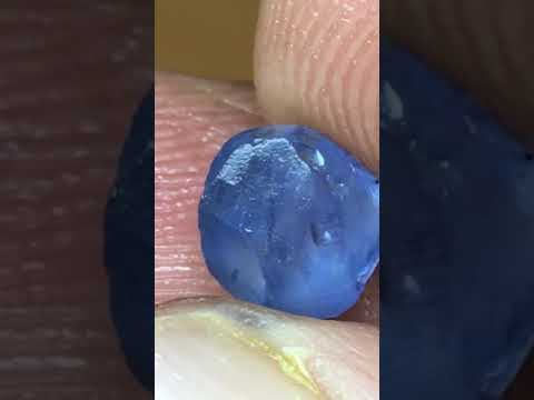 2.50cts rough blue sapphire free formed