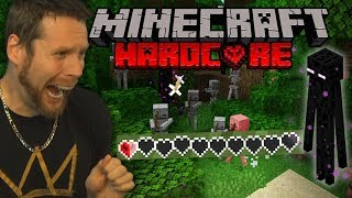 I almost lost my Hardcore Minecraft life..