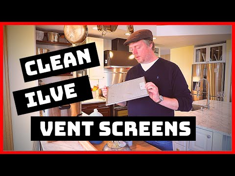 Ilve Majestic: How to Clean Range Hood Vent Screens