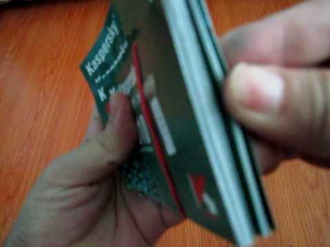 Original Kaspersky Scratch Cards - License Key