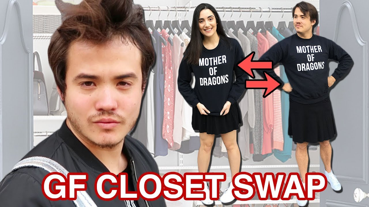 I Swapped Clothes With My Girlfriend For A Week
