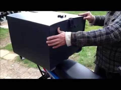 USM MOTORCYCLES - Pizza Box & Carrier Demo
