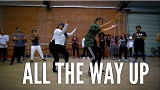 """""""ALL THE WAY UP"""" & """"VEERVAAR"""" - The Spintape by Spin Singh #BHANGRAFUNK dance"""