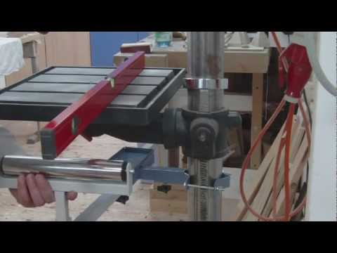 How to drill long acrylic workpieces *