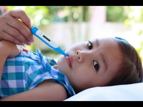 Treat Your Child's Fever - when to panic