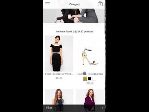 world most advnaced mobile magento theme video guided 03