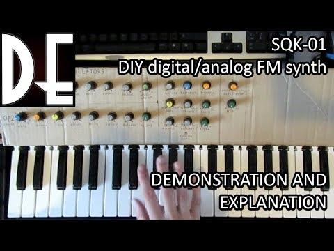 the SQK-01 - Arduino digital/analog FM synthesizer - Part 2