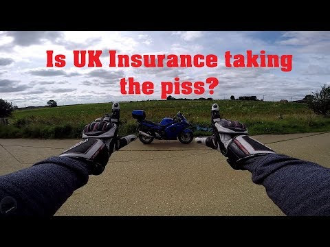 The problem with Insurance in the UK | Triumph Sprint GT Motovlog