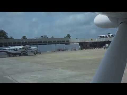 Flying on Tropic Air from San Pedro to Belize City 5/22/2016