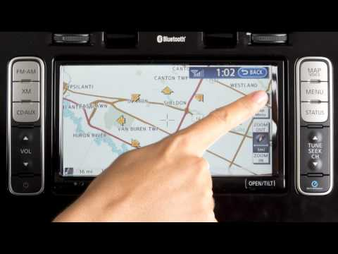 2013 Nissan LEAF - Map/Voice Button (if so equipped)