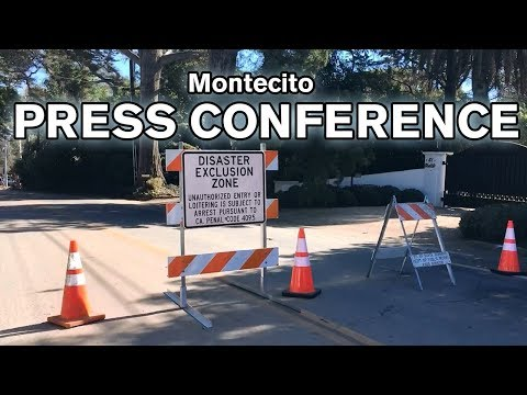 LIVE: Montecito Press Conference to address future storm risks and more