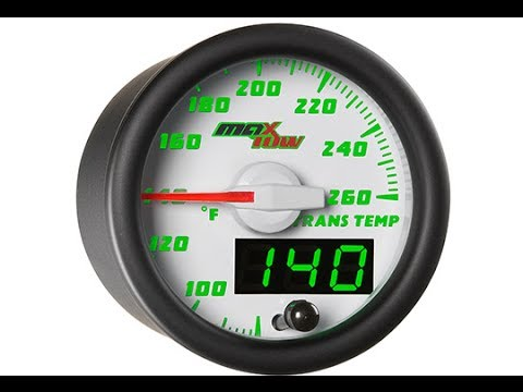 Transmission Temperature Gauges - Presented by Andy's Auto Sport