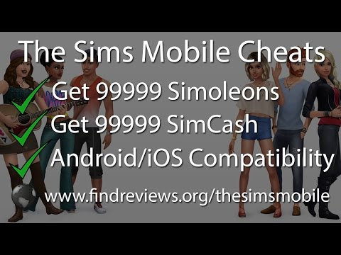 The Sims Mobile Cheats - Get 99999 Simoleons and SimCash
