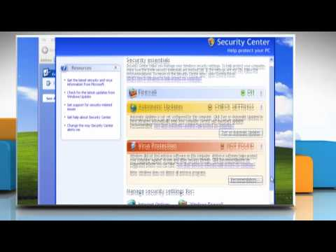 Windows® XP: How to add a Windows® Firewall exception?