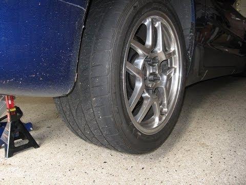 Corvette wheel bearing bad diagnose c5 noise vibration rough rumble howl by froggy