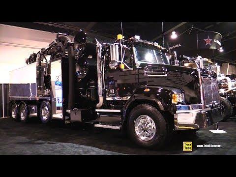 2018 Western Star 4700 SB Hydrivac Truck - Exterior and Interior Walkaround - 2018 Truckworld