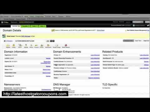How to Point DNS Servers from Godaddy to Hostgator (FAST!)