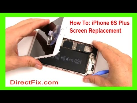 How to iPhone 6s Plus Screen Repair done in 4 minutes