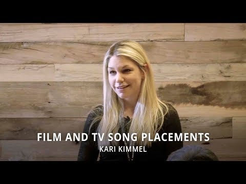 Film and TV Song Placements - Kari Kimmel