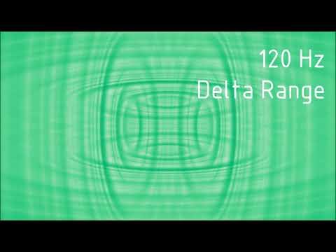 Pure 120 Hz Delta Range Binaural Beats [30 min]