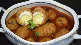 Nargisi Kofta Recipe | नरगिसी कोफ्ता | Very Delicious Recipe | Tasty Kitchen Point
