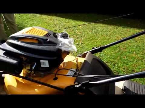 HOW TO CHANGE A DRIVE CABLE ON A CUB CADET LAWNMOWER