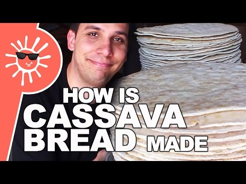 How do they make Cassava Bread? | Kiskeya.Life (guesthost: Mike)