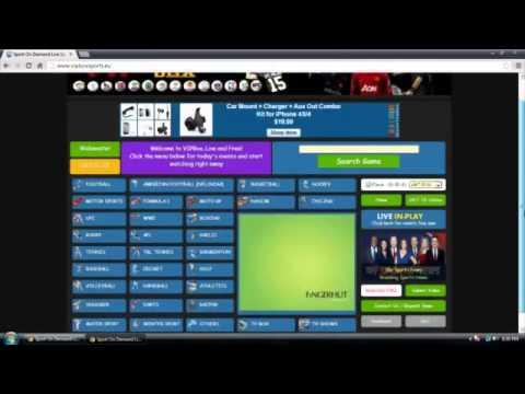 How To Watch FREE Sports Online (NFL, WWE, NBA, UFC, MLB...)