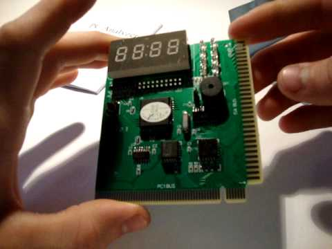 PCI & ISA 4 Bits Diagnostic POST Test Card