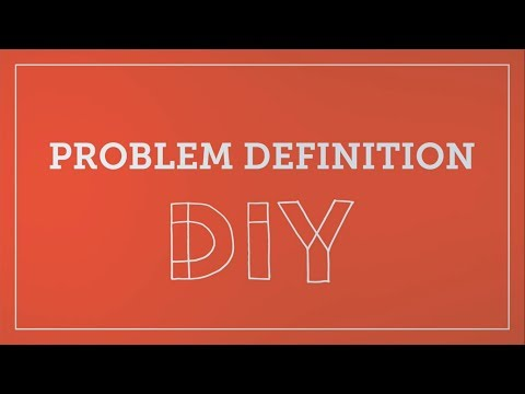 DIY Toolkit | Problem Definition