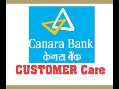 Canara Bank Customer care No.