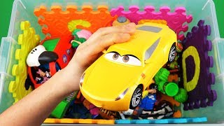 Characters, vehicles & insects toys videos for kids with colors: TMNT, Toy Story, Disney Cars, Hulk