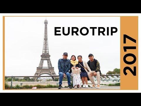 Eurotrip September to October 2017 (Rome,Milan,Turin,Zurich,Paris)