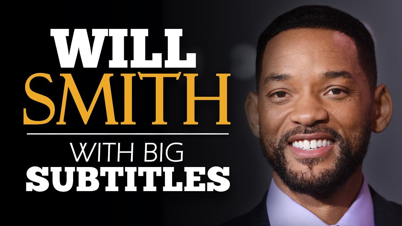 ENGLISH SPEECH   WILL SMITH: How to Face Fear (English Subtitles)