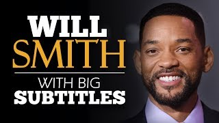 LEARN ENGLISH | WILL SMITH: How to Face Fear (English Subtitles)