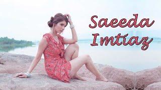 Saeeda Imtiaz Pakistani Hot model and actress