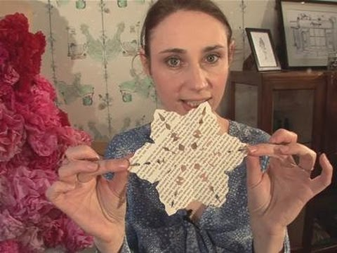 How To Do Origami Snowflakes