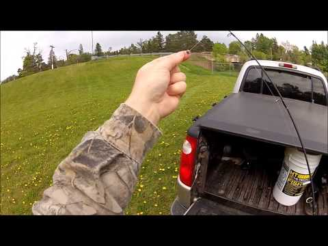 Trout Fishing with minnows using the Gopro