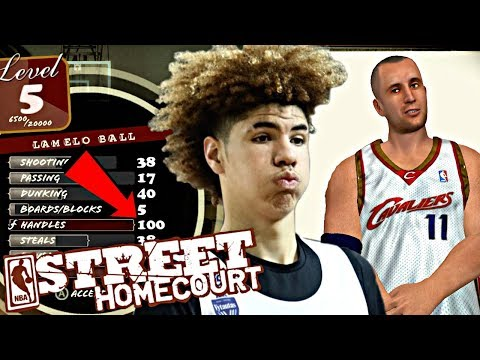 NBA STREET HOMECOURT LAMELO BALL #3 - FREAK SKILL DRIBBLE MOVES! ADDING A NBA PLAYER TO THE TEAM!