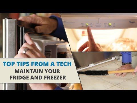 Top Tips from a Tech: Fridge & Freezer Maintenance Tips